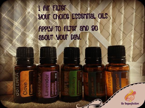 air filter essential oils